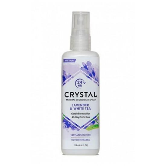 Crystal Essence Razpršilo, sivka in beli čaj Kozmetika