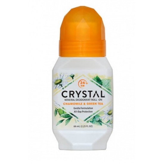 Crystal Essence Deo, kamilica z zelenim čajem, roll-on Kozmetika