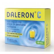 Daleron C, zrnca za peroralno raztopino, 24 vrečk