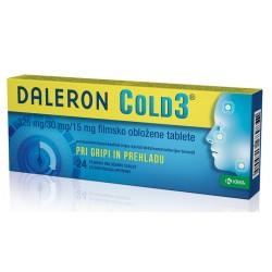 Daleron Cold 3, filmsko obložene tablete