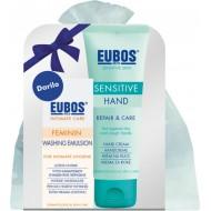 Eubos Med, Darilni paket Sensitive krema za roke + Feminin intimna čistilna emulzija