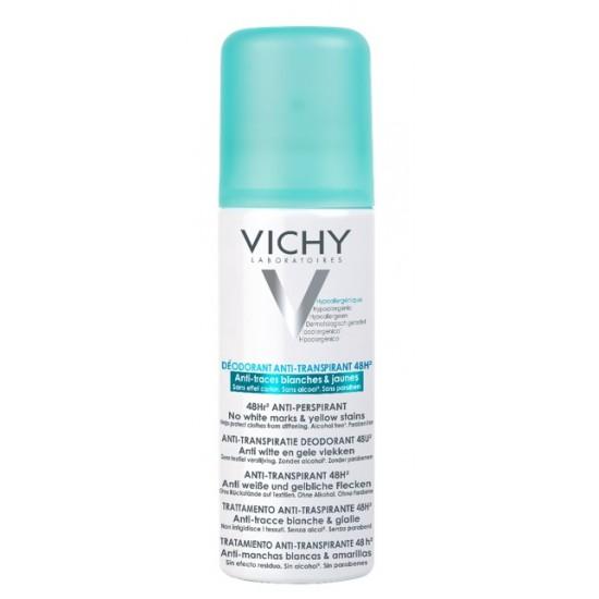 Vichy, dezodorant v razpršilu proti belim sledem in rumenim madežem Kozmetika