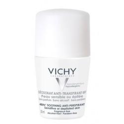 Vichy, dezodorant za zelo občutljivo in depilirano kožo - 48 ur