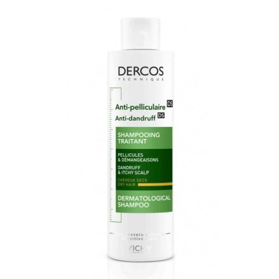Vichy Dercos, šampon proti prhljaju za suhe lase Kozmetika