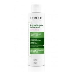 Vichy Dercos šampon proti prhljaju za občutljivo lasišče, brez sulfatov