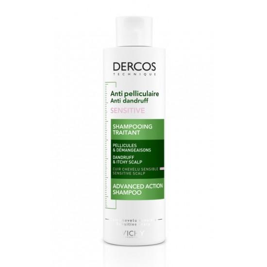 Vichy Dercos šampon proti prhljaju za občutljivo lasišče, brez sulfatov Kozmetika