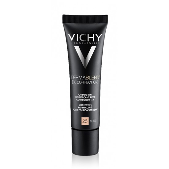 Vichy Dermablend 3D Correction, korektivni puder za mastno kožo nagnjeno k aknam - 25 Kozmetika