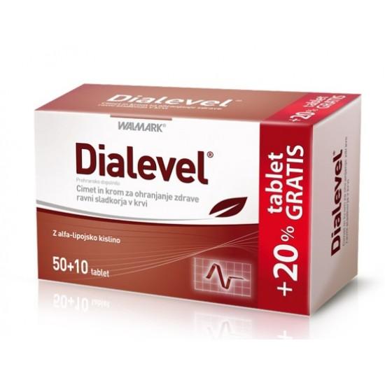 Dialevel, tablete Prehrana in dopolnila