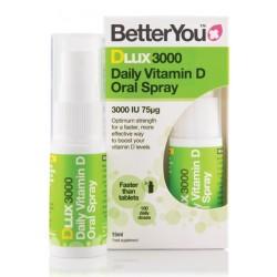Betteryou DLux 3000 vitamin D3, pršilo