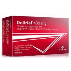 Dolirief 400 mg, filmsko obložene tablete