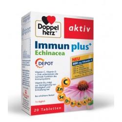 Doppelherz Aktiv Immun Plus Ameriški slamnik depot, tablete