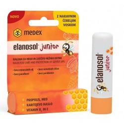 Medex Elanosol Junior, balzam za nego in zaščito nežnih ustnic