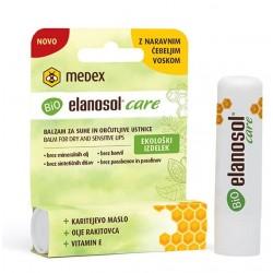 Medex Bio Elanosol Care, balzam za suhe in občutljive ustnice