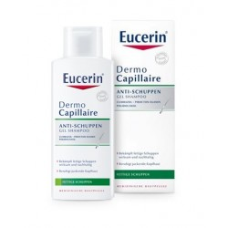 Eucerin Dermocapillaire, šampon proti mastnemu prhljaju