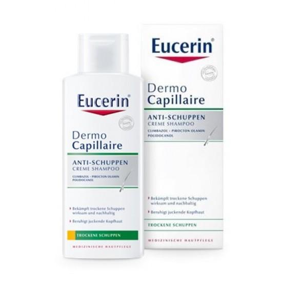 Eucerin Dermocapillaire, šampon proti suhemu prhljaju Kozmetika