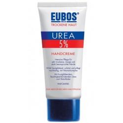 Eubos 5% Urea, krema za suhe in razpokane roke