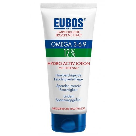 Eubos Omega 3-6-9 Hydro Activ lotion, pomirjujoči losjon za telo Kozmetika