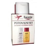 Eucerin, potovalni set za suho/atopijsko kožo