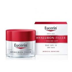 Eucerin Hyaluron Volume-Filler Lift, dnevna krema za suho kožo