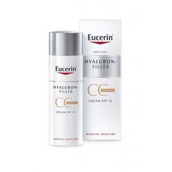 Eucerin Hyaluron-Filler, CC krema v odtenku medium Kozmetika
