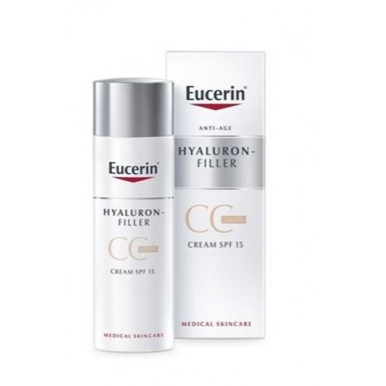 Eucerin Hyaluron-Filler, CC krema v odtenku light Kozmetika