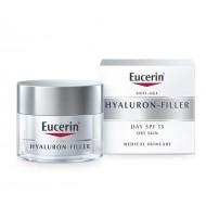 Eucerin Hyaluron-Filler, dnevna krema za suho kožo