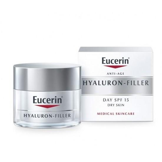 Eucerin Hyaluron-Filler, dnevna krema za suho kožo Kozmetika