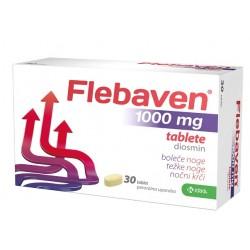 Flebaven 1000 mg, 30 obloženih tablet