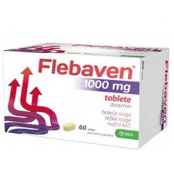 Flebaven 1000 mg, 60 obloženih tablet