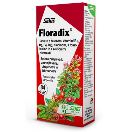 Floradix, tablete Prehrana in dopolnila