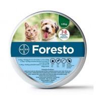 Foresto, insekticidna ovratnica za mačke in pse - do 8 kg