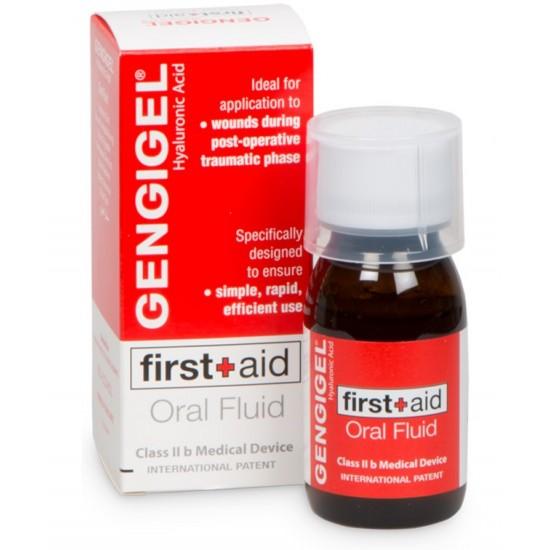 Gengigel First Aid Oralni fluid, raztopina Pripomočki in zaščita