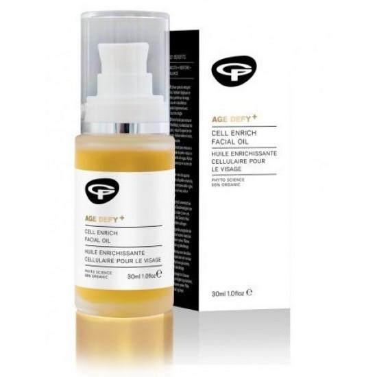 Green People Age Defy+, pomlajevalno olje za obraz Kozmetika