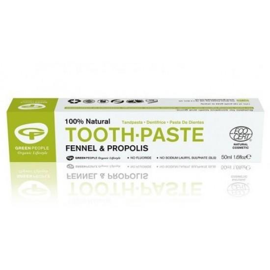 Green People, zobna pasta s sladkim janežem in propolisom Pripomočki in zaščita