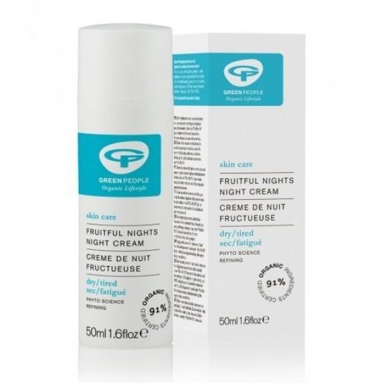 Green People, nočna krema z aktivnimi učinki za obnavljanje kože Kozmetika