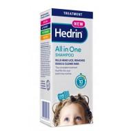 Hedrin All in one, šampon za odstranjevanje uši in gnid