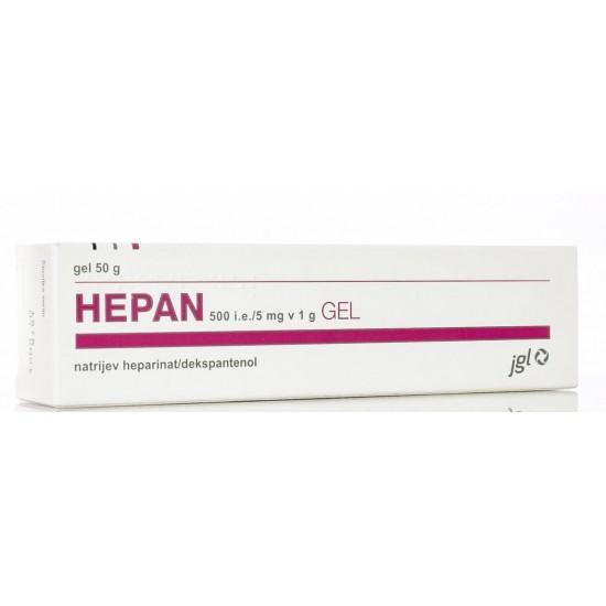 Hepan, gel Zdravila brez recepta