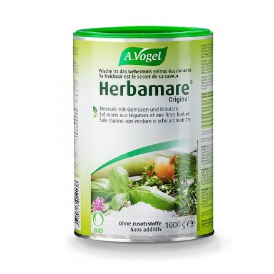 A.Vogel, Herbamare Original zeliščna morska sol - 1000 g Prehrana in dopolnila