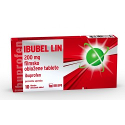 Ibubel Lin 200mg, filmsko obložene tablete