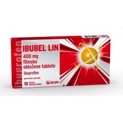 Ibubel Lin 400mg, filmsko obložene tablete