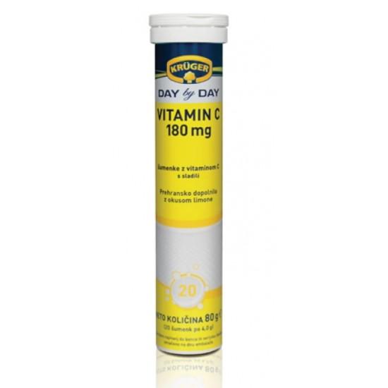 Kruger Day by Day, Vitamin C 180 mg, šumeče tablete Prehrana in dopolnila