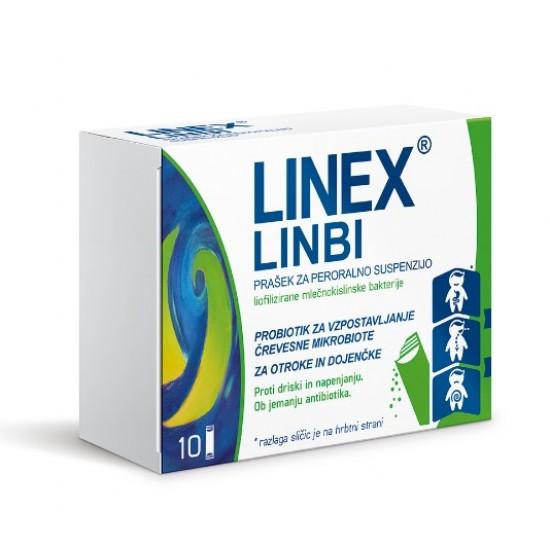 Linex Linbi, prašek za peroralno suspenzijo -10 vrečk Zdravila brez recepta