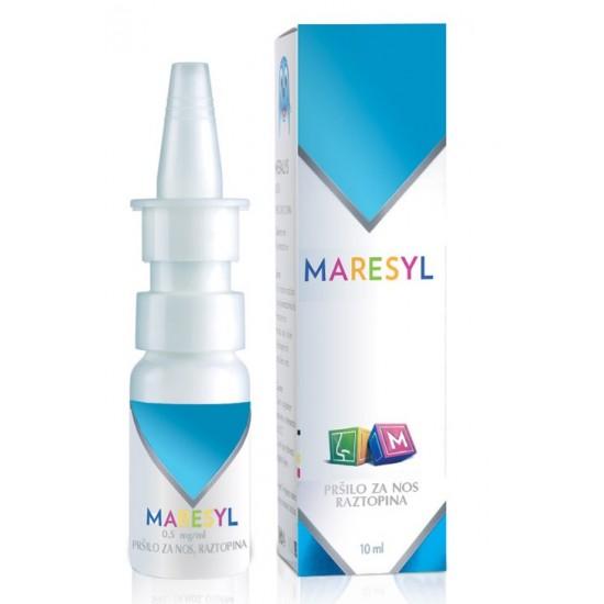 Maresyl 0,5mg/ml, pršilo za nos Nos, grlo in ušesa