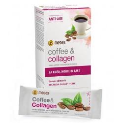 Medex Coffee   Collagen, kavni napitek s kolagenom in cinkom - vrečka