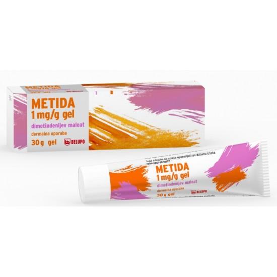 Metida 1mg/g, gel tuba - 30 g Zdravila brez recepta