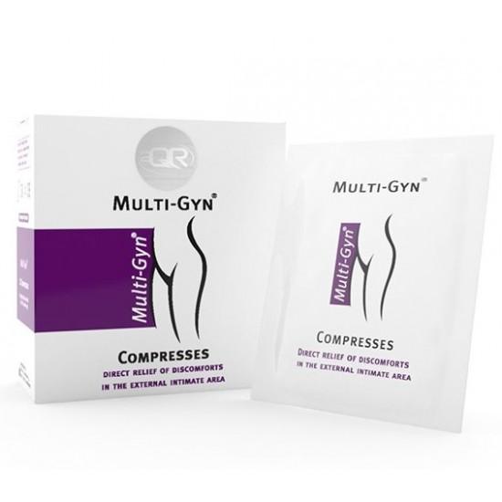 Multi-Gyn Compresses, zaščitne blazinice Pripomočki in zaščita