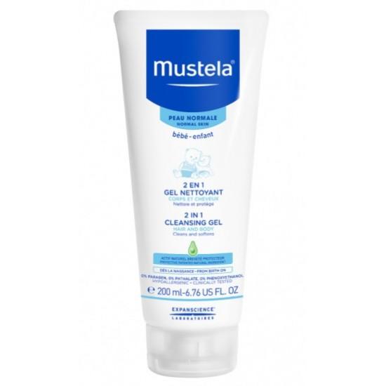 Mustela, gel za umivanje 2v1 Kozmetika