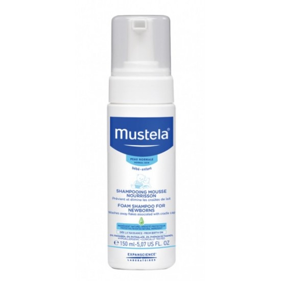 Mustela, peneči šampon za temenca Kozmetika