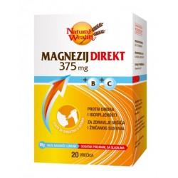 Natural Wealth Magnezij Direkt 375 mg, vrečke