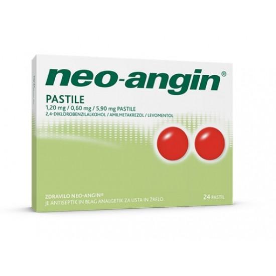Neo-angin, pastile Zdravila brez recepta